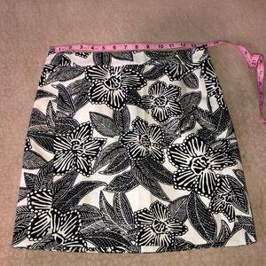 J. Crew Skirts - J.Crew Polynesian Floral Postage Stamp Skirt!
